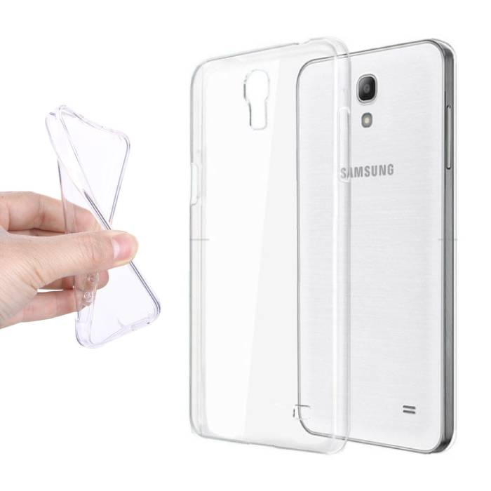 2-Pack Transparent Clear Silicone Case Cover TPU Case Samsung Galaxy S4