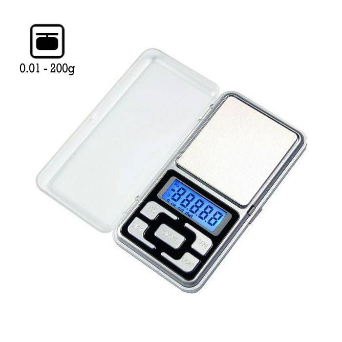 Mini Digitale Precisie Portable Balance LCD Scale Weeg Weegschaal 200g - 0.01g