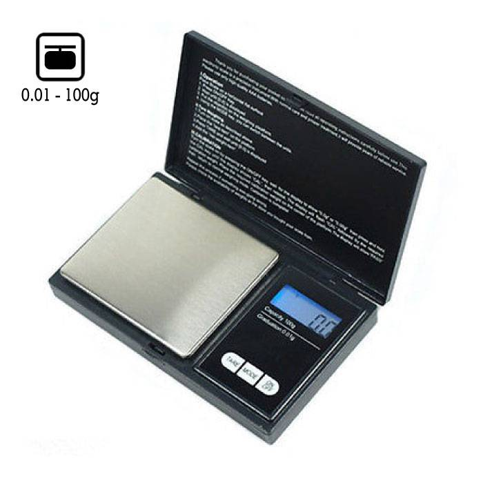 Mini Digitale Precisie Portable Balance LCD Scale Weeg Weegschaal 100g - 0.01g