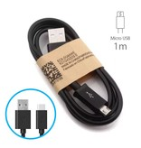 Stuff Certified® 2-Pack USB 2.0 - Micro-USB Cable Chargeur Cable 1 metre de données Android Noir
