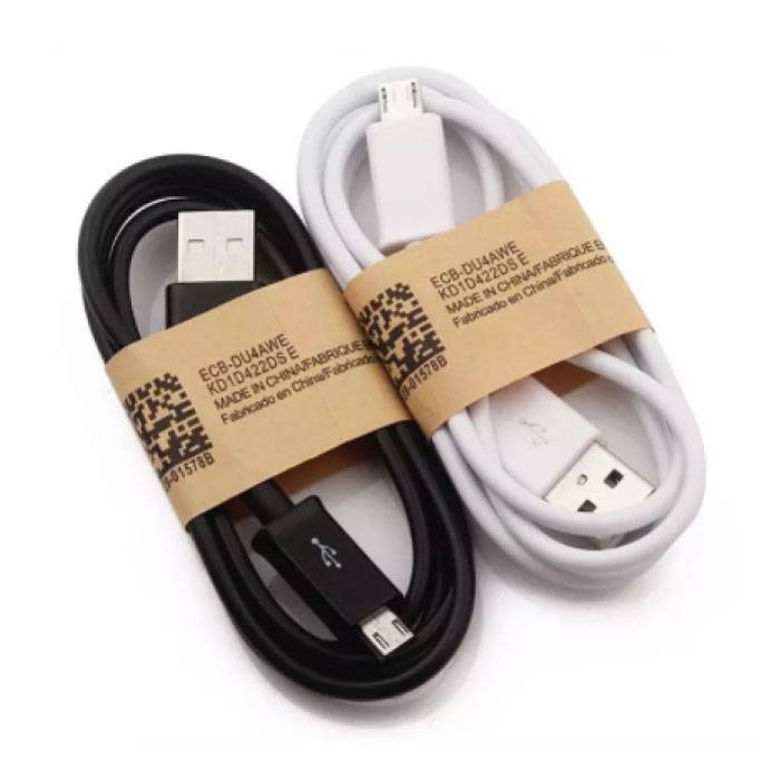 Stuff Certified® 3-Pack USB 2.0 - Micro-USB Oplaadkabel Oplader Data Kabel Data Android 1 Meter Wit