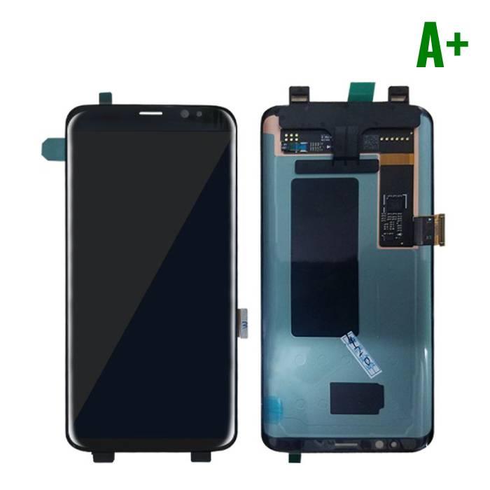 Samsung Galaxy S8 Scherm (Touchscreen + LCD + Onderdelen) A+ Kwaliteit - Zwart