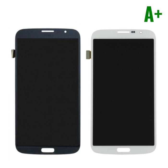 Samsung Galaxy Mega 6.3 i9200 / Screen i9205 (écran LCD tactile + + pièces) A+ Qualité - Noir / Blanc