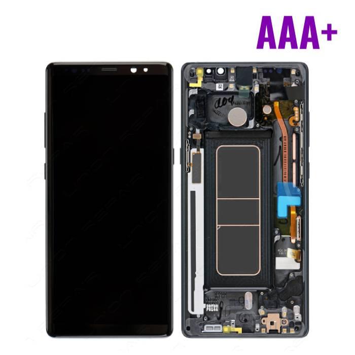 Samsung Galaxy Note 8 Scherm (Touchscreen + LCD + Onderdelen) AAA+ Kwaliteit - Zwart