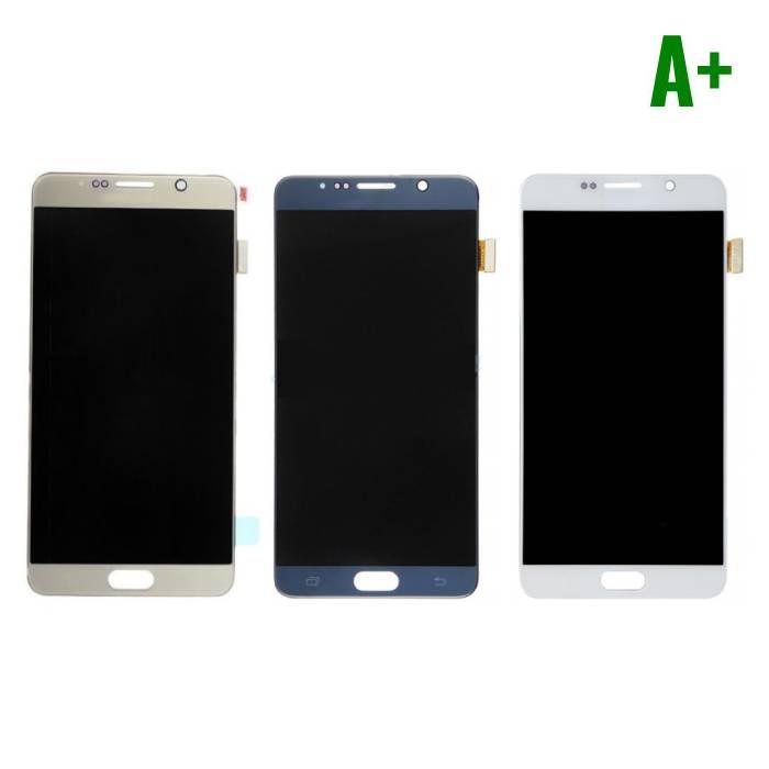 Samsung Galaxy Note 5 N9200/N920A/N920T/N920V/N920P Scherm (Touchscreen + AMOLED + Onderdelen) A+ Kwaliteit - Wit/Blauw/Goud