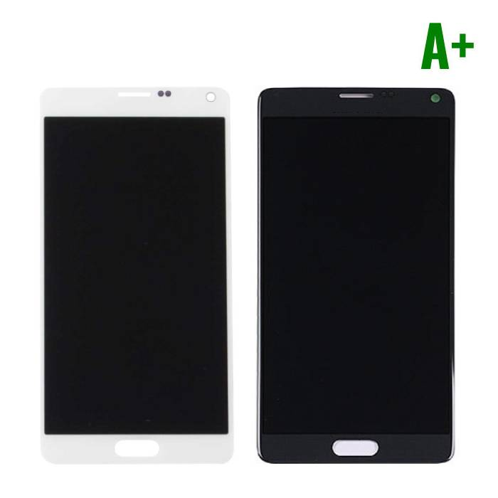 Samsung Galaxy Note 4 N910A / N910F screen (Touchscreen + LCD + Parts) A + Quality - Black / White