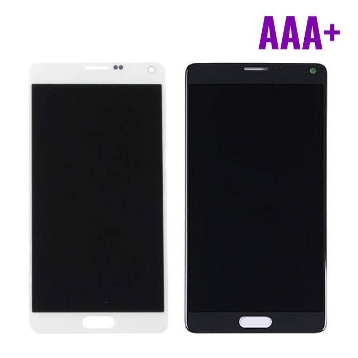 Samsung Galaxy Note 4 N910A / N910F screen (Touchscreen + LCD + Parts) AAA + Quality - Black / White