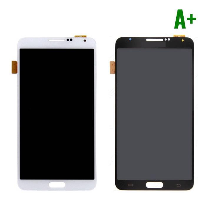 Samsung Galaxy Note 3 N9000 (3G) Scherm (Touchscreen + LCD + Onderdelen) A+ Kwaliteit - Zwart/Wit