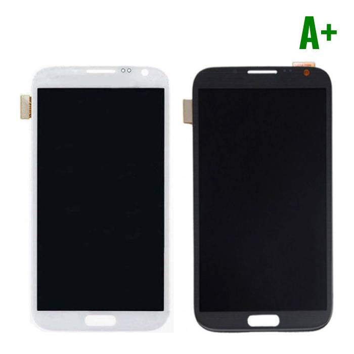Samsung Galaxy Note 2 N7100 screen (Touchscreen + LCD + Parts) A + Quality - Black / White