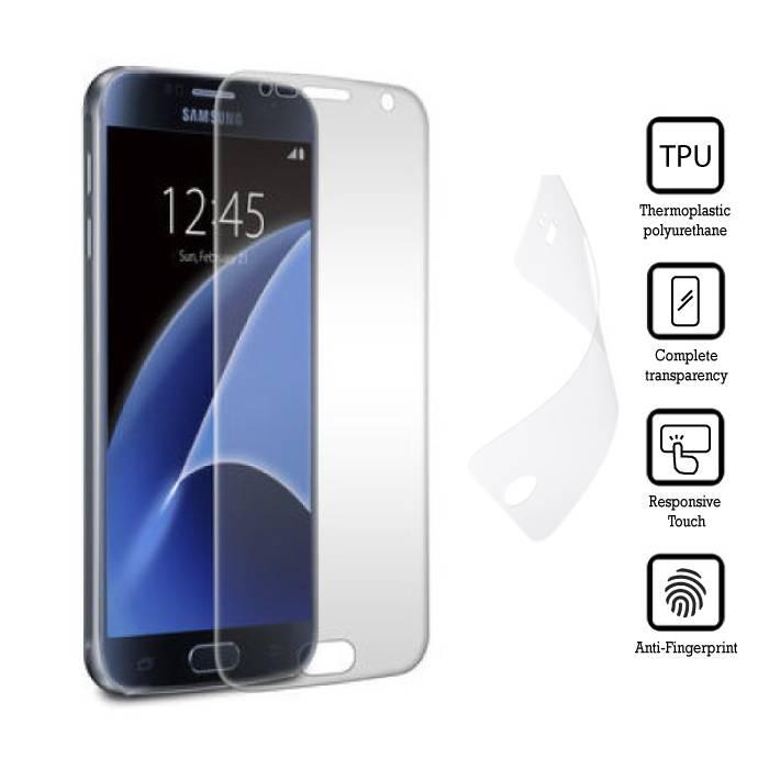 Film de protection écran Samsung Galaxy S7 doux TPU Film Film PET Film