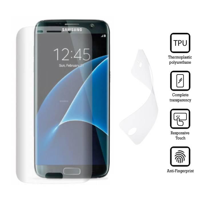 Film de protection écran Samsung Galaxy S7 Soft Edge TPU Film Film PET Film