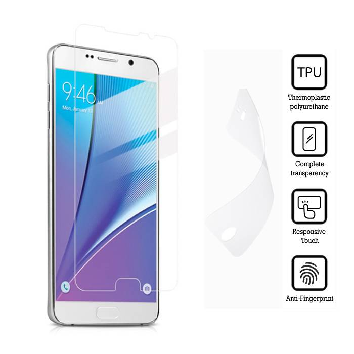 Film de protection écran Samsung Galaxy Note 5 Film souple TPU Film PET Film