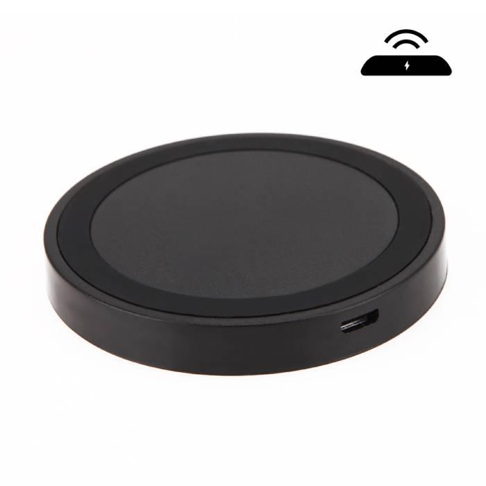 Qi Q5 Universele Draadloze Oplader 5V - 1A Wireless Charging Pad Zwart