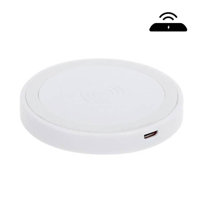 Qi Q5 Universele Draadloze Oplader Wireless Charging Pad Wit
