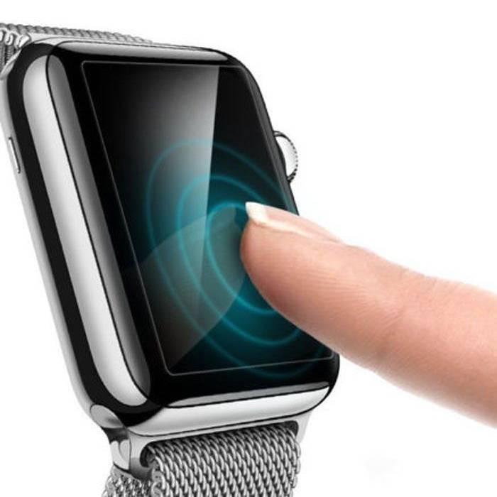 Stuff Certified® 42mm en verre trempé clair Protecteur d'écran pour iWatch série 1/2/3