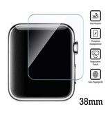 Stuff Certified® 38mm Tempered Glass Clear Screen Protector voor iWatch Series 1 / 2 / 3