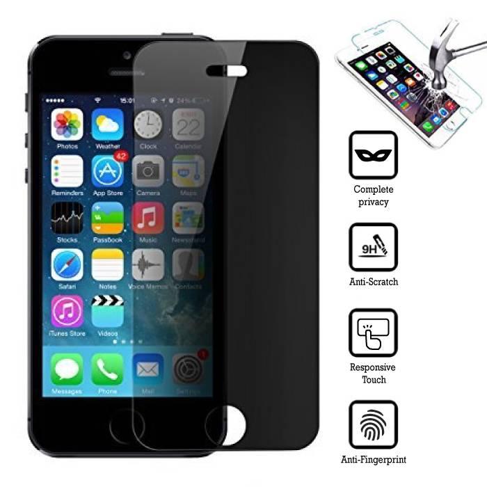 Privacy Screen Protector iPhone 5C en verre trempé Film