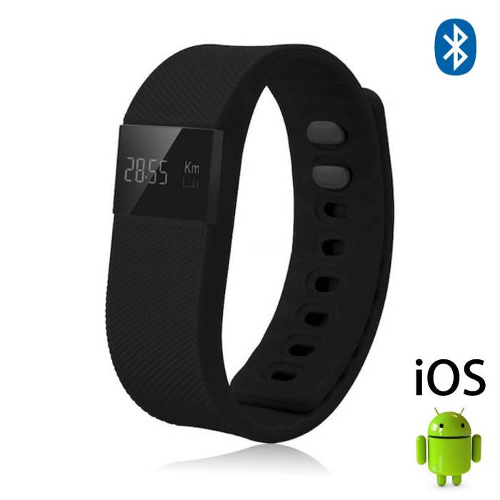 Original TW64 Smartband Sport Smartwatch Smartphone Watch OLED iOS Android Black