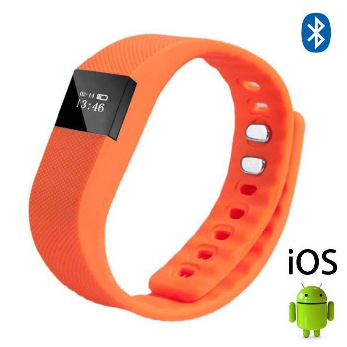 Originele TW64 Smartband Sport Smartwatch Smartphone Horloge OLED iOS Android Oranje