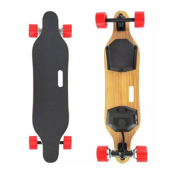 Planche roulettes électrique intelligent E-Board - 350W - Avec télécommande