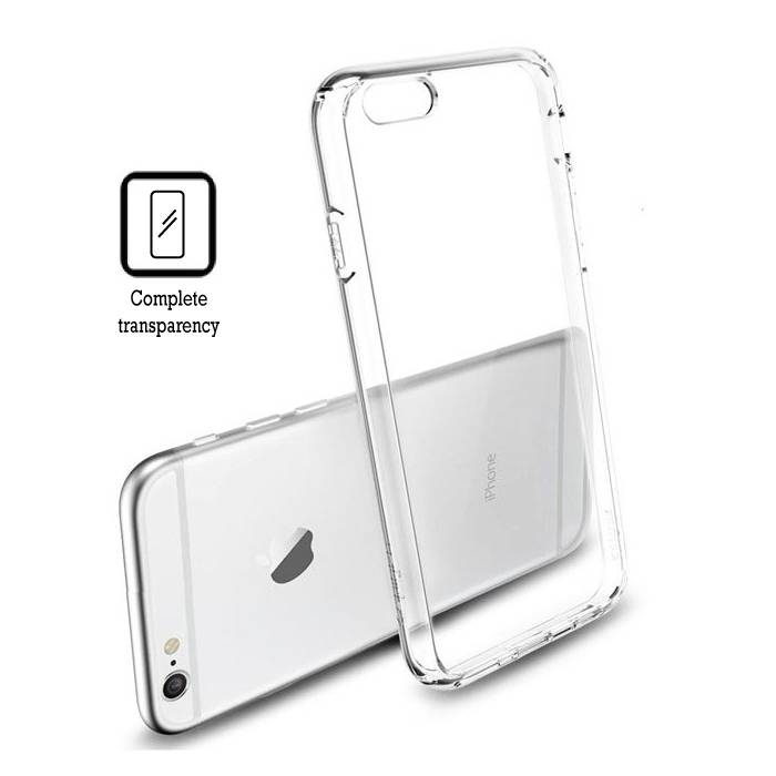 Transparant Clear Hard Case Cover Hoesje iPhone 6 Plus