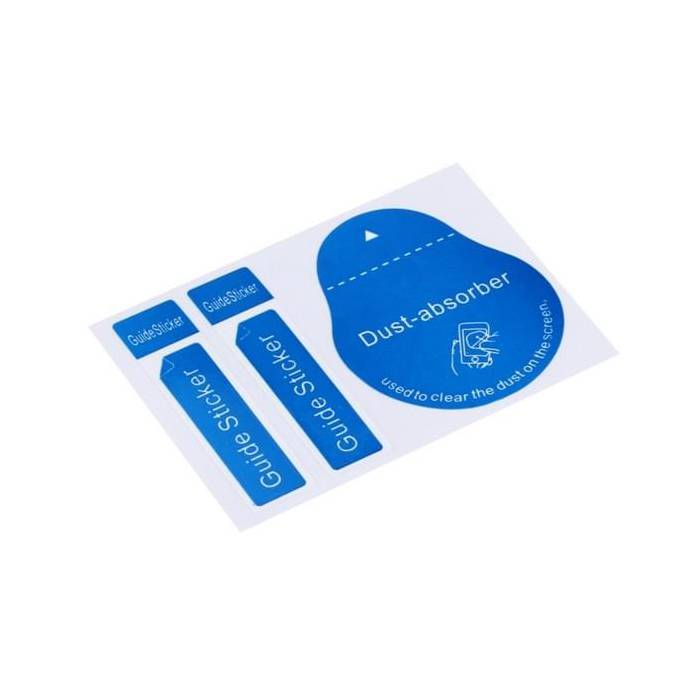 Stuff Certified® 5-Pack Dust Absorber Screenprotector Guide Sticker