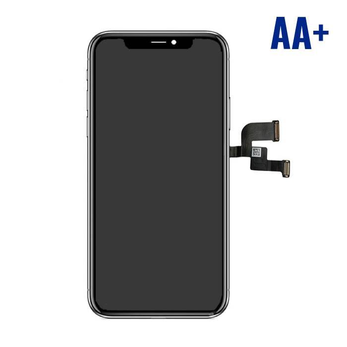 iPhone X Scherm (Touchscreen + LCD + Onderdelen) AA+ Kwaliteit - Zwart