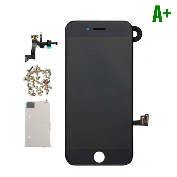 7 For iPhone Mounted Display (LCD + Touch Screen + Parts) A + Quality - Black