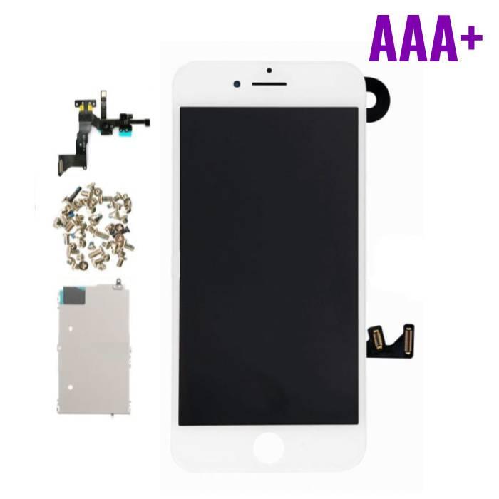 7 Pour iPhone Mounted Display ('cran LCD + tactile + PiŠces) AAA+ Qualit' - Blanc