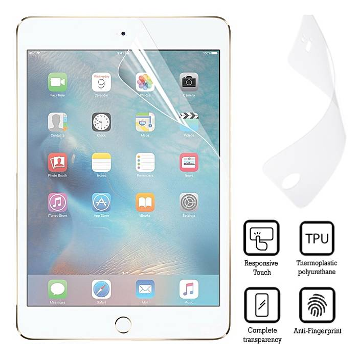 Screen Protector iPad 2/3/4 Soft TPU Foil Folie PET Film