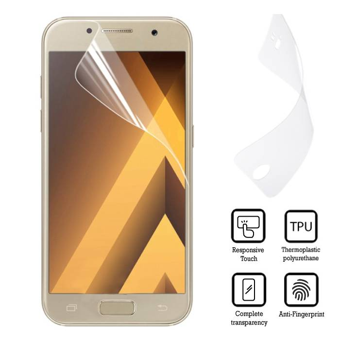 Screen Protector Samsung Galaxy A7 2017 EU Soft TPU Foil Folie PET Film