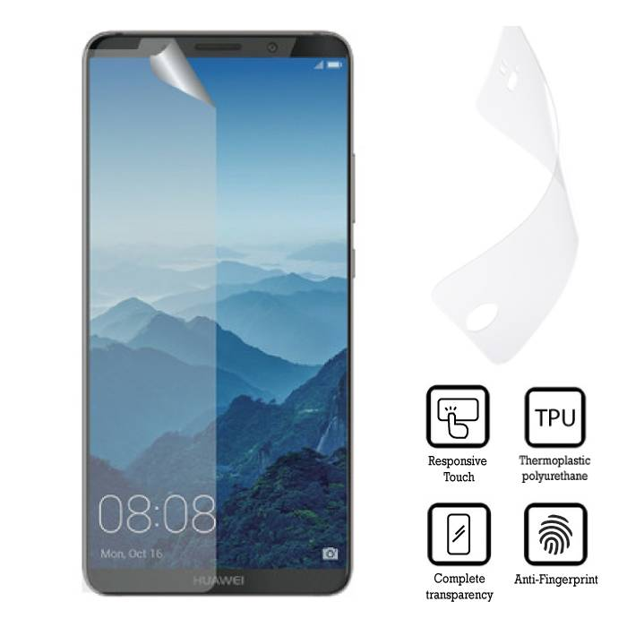 Screen Protector Huawei Mate 10 Soft TPU Foil Folie PET Film