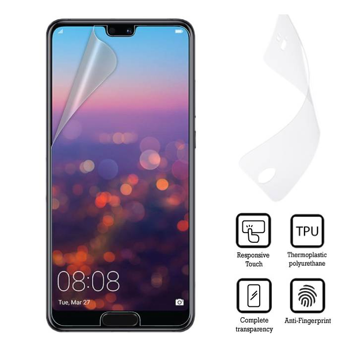 Screen Protector Huawei P20 Soft TPU Foil Film PET Film