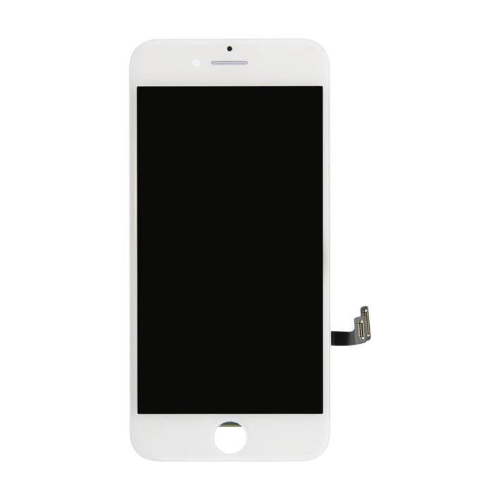 iPhone 7 Bildschirm (Touchscreen + LCD + Teile) A + Qualität - Weiß