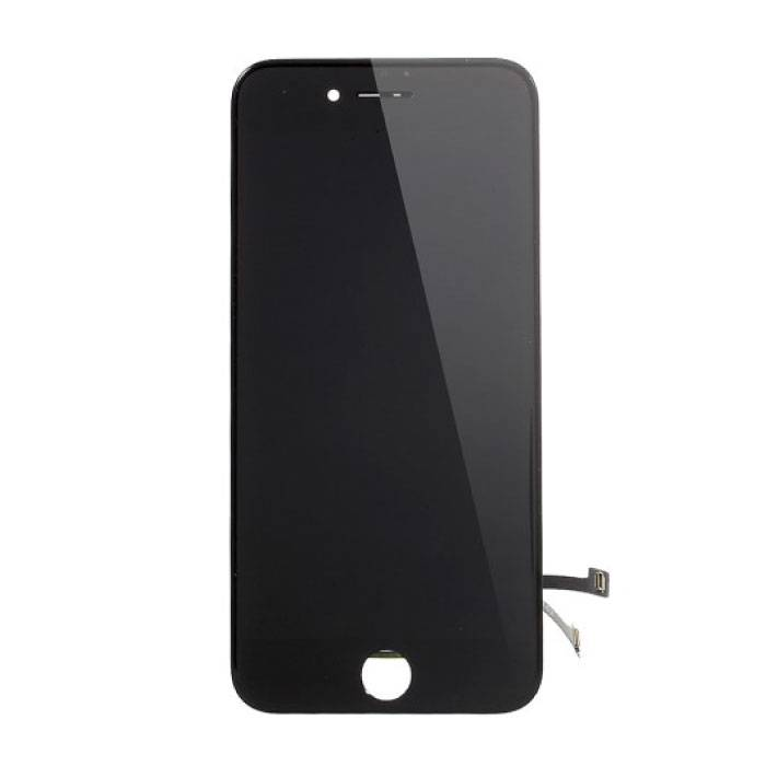 iPhone 7 Bildschirm (Touchscreen + LCD + Teile) AA + Qualität - Schwarz