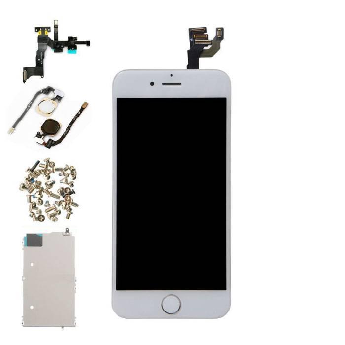 """iPhone 6 4.7"""" Voorgemonteerd Scherm (Touchscreen + LCD + Onderdelen) A+ Kwaliteit - Wit"""