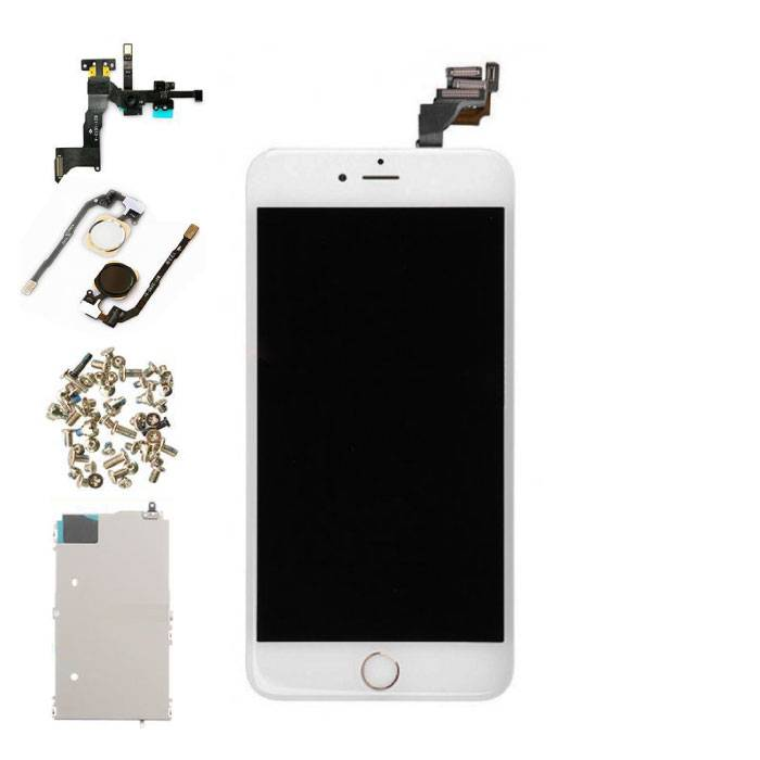 iPhone 6 Plus Voorgemonteerd Scherm (Touchscreen + LCD + Onderdelen) A+ Kwaliteit - Wit