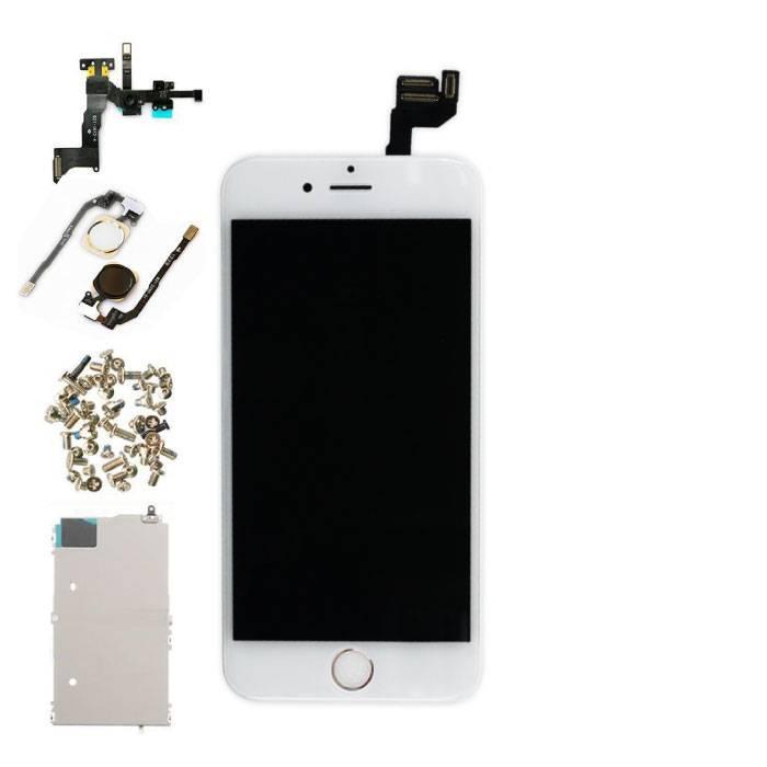 """iPhone 6S 4.7"""" Voorgemonteerd Scherm (Touchscreen + LCD + Onderdelen) A+ Kwaliteit - Wit"""
