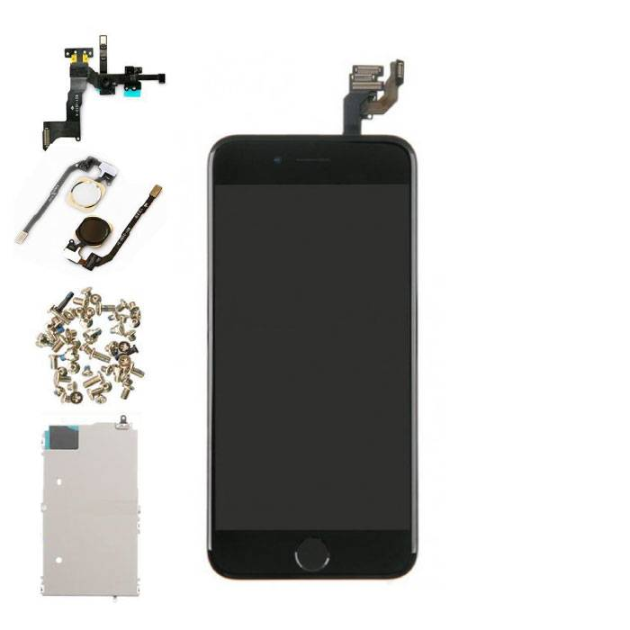 """iPhone 6 4.7 """"Front Mounted Display (LCD + Touch Screen + Parts) AAA + Quality - Black"""