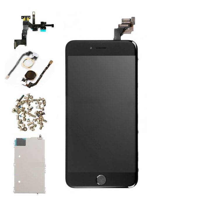 iPhone 6 Plus Pre-assembled Screen (Touchscreen + LCD + Parts) AA + Quality - Black