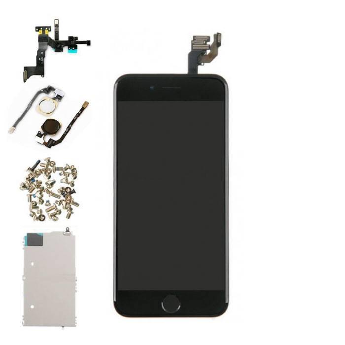 """iPhone 6 4.7"""" Voorgemonteerd Scherm (Touchscreen + LCD + Onderdelen) A+ Kwaliteit - Zwart"""