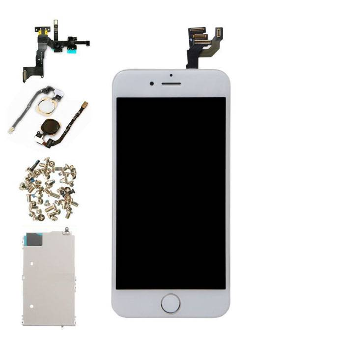 """iPhone 6 4.7 """"Pre-assembled Display (Touchscreen + LCD + Parts) AAA + Quality - White"""