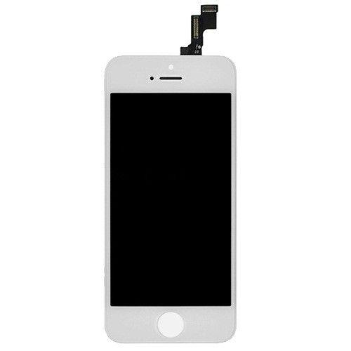 Écran iPhone SE / 5S (écran tactile + LCD + Pièces) AA + Qualité - Blanc