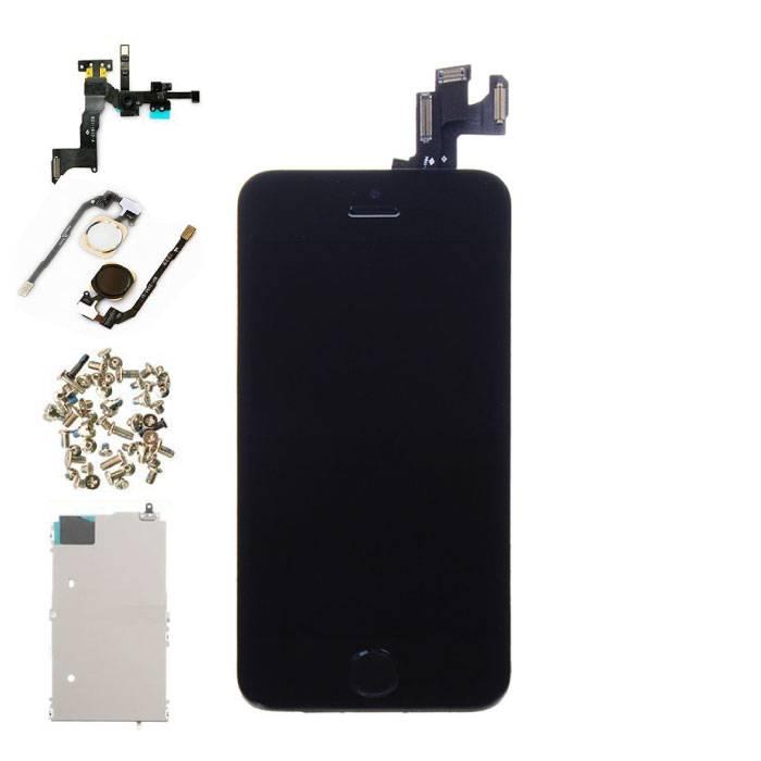 iPhone SE Voorgemonteerd Scherm (Touchscreen + LCD + Onderdelen) AAA+ Kwaliteit - Zwart
