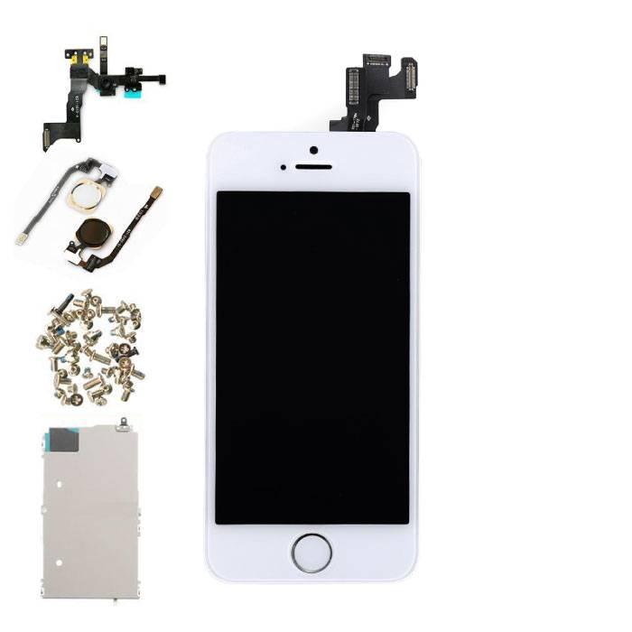 Écran pré-assemblé pour iPhone 5S (écran tactile + LCD + pièces) A + Qualité - Blanc