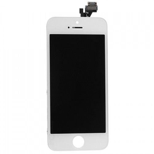 iPhone 5 Bildschirm (Touchscreen + LCD + Teile) AA + Qualität - Weiß