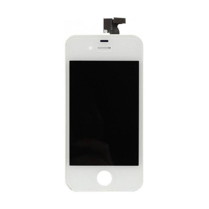 iPhone 4 Screen (Touchscreen + LCD + Parts) A + Quality - White