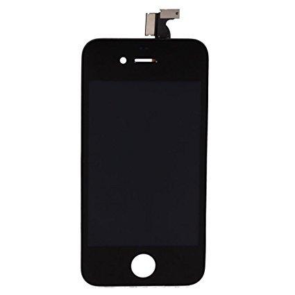 iPhone 4 Bildschirm (Touchscreen + LCD + Teile) AA + Qualität - Schwarz