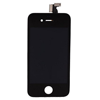 iPhone 4 Screen (Touchscreen + LCD + Parts) AA + Quality - Black