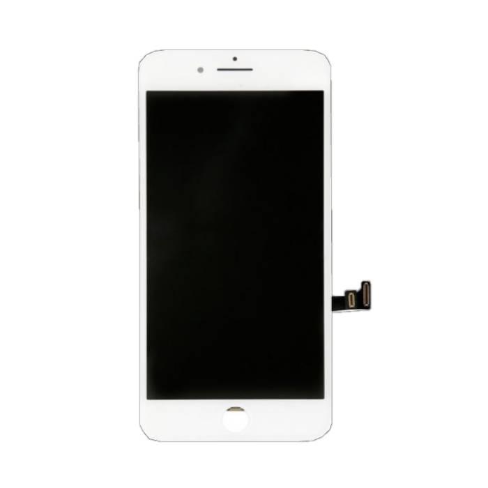 iPhone 8 Plus Bildschirm (Touchscreen + LCD + Teile) AA + Qualität - Weiß
